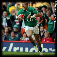 Wales Ireland 2013 Simon Zebo try