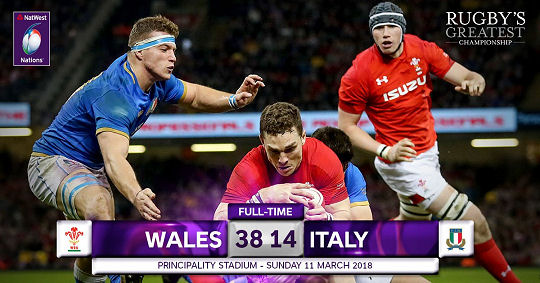 Wales Italy FT 6 Nations 2018