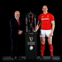 Wales Rugby Warren Gatland Alun Wyn Jones Guinness Six Nations 2019
