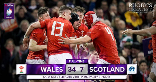 Wales Scotland FT 6 Nations 2018