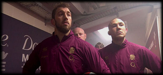 Wales v England RBS 6 Nations 2015 Tunnelgate Chris Robshaw Mike Brown